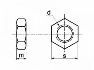 Tuerca DIN 439 ISO-4035-36