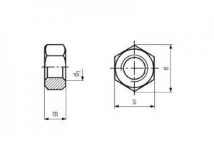 Tuerca DIN 6915 ISO-7414