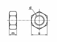 Tuerca DIN 934 ISO-4032-33