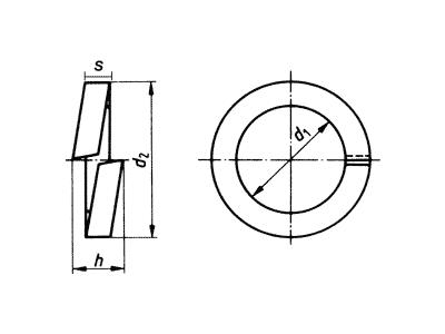 Arandela DIN127