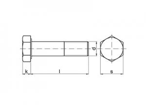 Tornillo DIN-6914 - ISO-7412