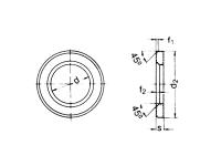 Arandela DIN 6916 ISO 7416