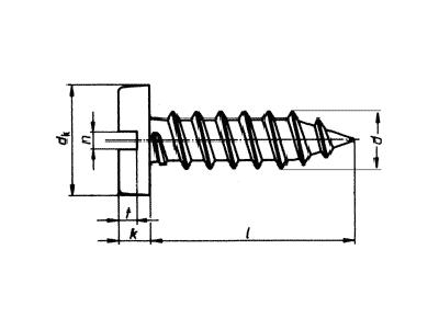 Tornillo DIN7971-ISO-1481