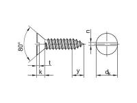 Tornillo DIN7972-ISO-1482