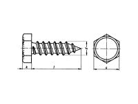 Tornillo DIN7976-ISO1479
