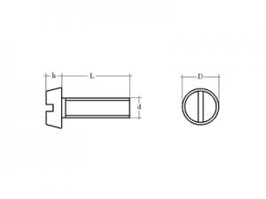 Tornillo DIN-84 ISO-1207