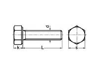 Tornillo DIN 961-ISO-8676