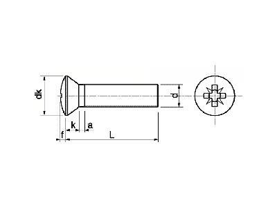 Tornillo DIN 966 ISO-7047