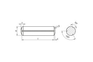 DIN1473-ISO8740